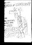 Ill Conceived Superhero: Golden Cow. by OliverSimonsen