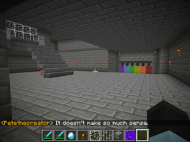Rainbow Factory in Minecraft. (Almost Finished) by xXIceblastofRCXx