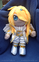 Commission - Albionreo plushie by seradonna