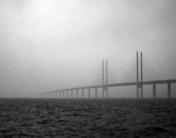 Oeresund Bridge by monojam