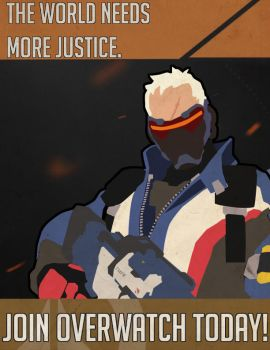 Join Overwatch justice by MasonDX