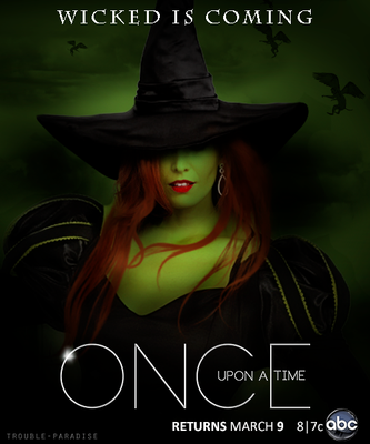 Wicked is Coming |OUAT Poster by lillullabyblue