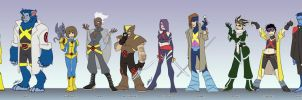 X-men Redesign toon-style 1 by eisu