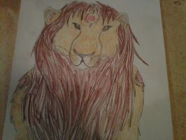 Lion by aquaheartthecat
