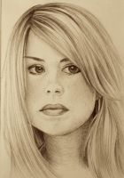 Rose Tyler - Ballpoint by ShadowSeason