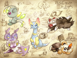 FUSEmon Adopts -CLOSED, sorry!- by Agryo