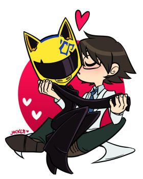 Gift: Shinra x Celty by Jackce-Art