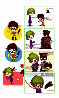 Joker vs Robin? by pink-snow