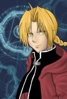 Fullmetal Alchemist: Ed Elric by Nerachiet
