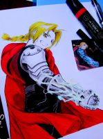 Edward Elric by kjviray