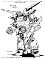 LEGO Exo-Force concept art 1 by Mecha-Zone