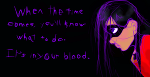 In Your Blood - color by Violet-the-Siberian