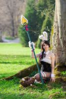Battle Bunny Nidalee: 'The untamed know no fear' by xTouko