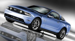Ford Mustang GT 2010 by m-a-p-c