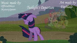 Twilight's Departure Cover by Fireblade804