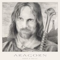 Aragorn - Lord of the Rings by soelver