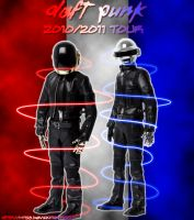 Daft Punk 2010-2011 Tour Pic by MTS3