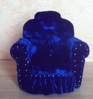 Blue Armchair by RevelloDrive1630