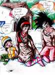 HolidayContest Entry_Tirinity by DBZbeauties