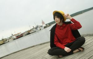 One Piece - Monkey D. Luffy (Strong World) by fuckingluckybastarrd