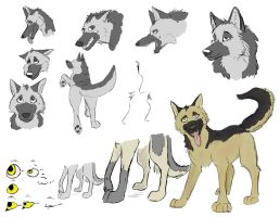 Fritzy Concept Art by ryderwolf24