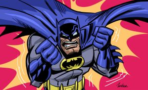 Batmanpissed by SpawnofSprang