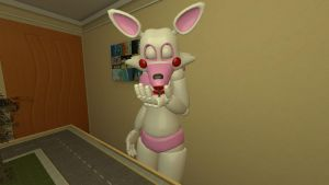 Mangle kiss tiny JagoMaster2112 by legoben2