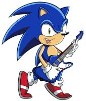Sonic on Guitar by Tabs-Tabulature