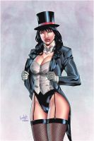 Zatanna-Color by leonartgondim
