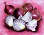 Red onions by LasmejaLora