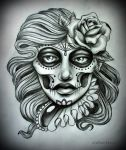 TATTOO DESIGN commissioned by oldSkullLovebyMW