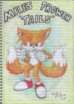 Miles Tails Prower the Kitsune by laryssadesenhista