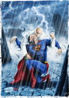 The Death of Superman by DanieleRedRossini