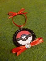 Pokeball Pokemon Christmas Ornament by Monostache