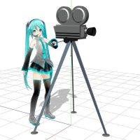 MMD Miku's Camera DL by Trackdancer