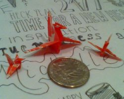 starburst wrapper cranes by whatonearth