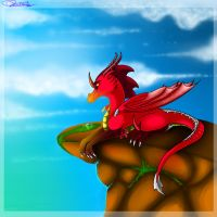 :AT: Watching Over by Deathtail-The-DraCon