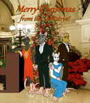 Merry Christmas from the DeRatrys by Kelaiah