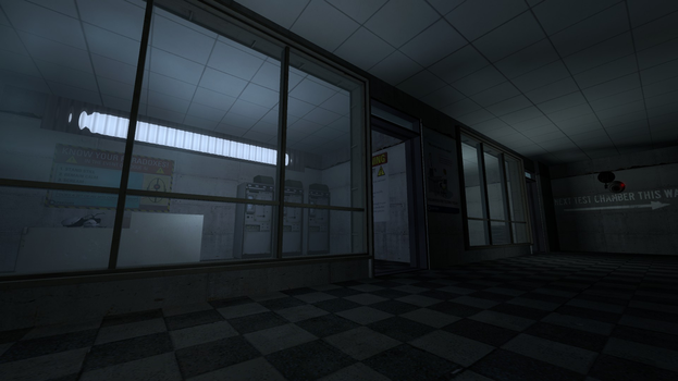Inside Aperture - Mapping Test by JS21O3