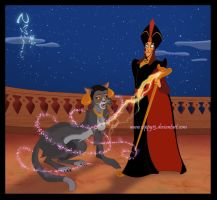 Jafar and Jasmine by Nippy13
