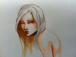 Marker sketch by Alonzo-Canto