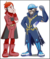 .Archie and Maxie. by faster-by-choice