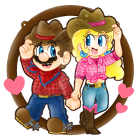 .:Hey there, cowboy! :. by CloTheMarioLover