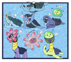 PKMNation - Creepling x Anemone clutch [Closed!] by Feligriffin