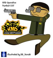 Numbuh 1337 illustrated by BB-K