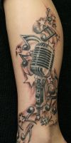 Ready Music crazy TaT by 2Face-Tattoo