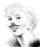 Gaga in Berlin by Musyupick