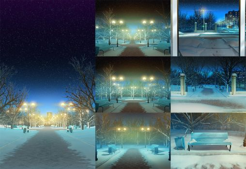 Backgrounds 2 by iCephei
