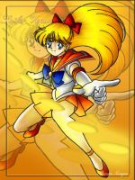 Colourisation - Sailor Venus by RevenNiaga