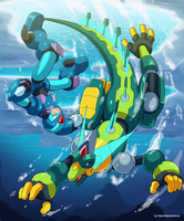 Glacial Brawl by ultimatemaverickx